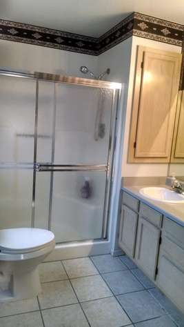 Master Bath walk-in shower