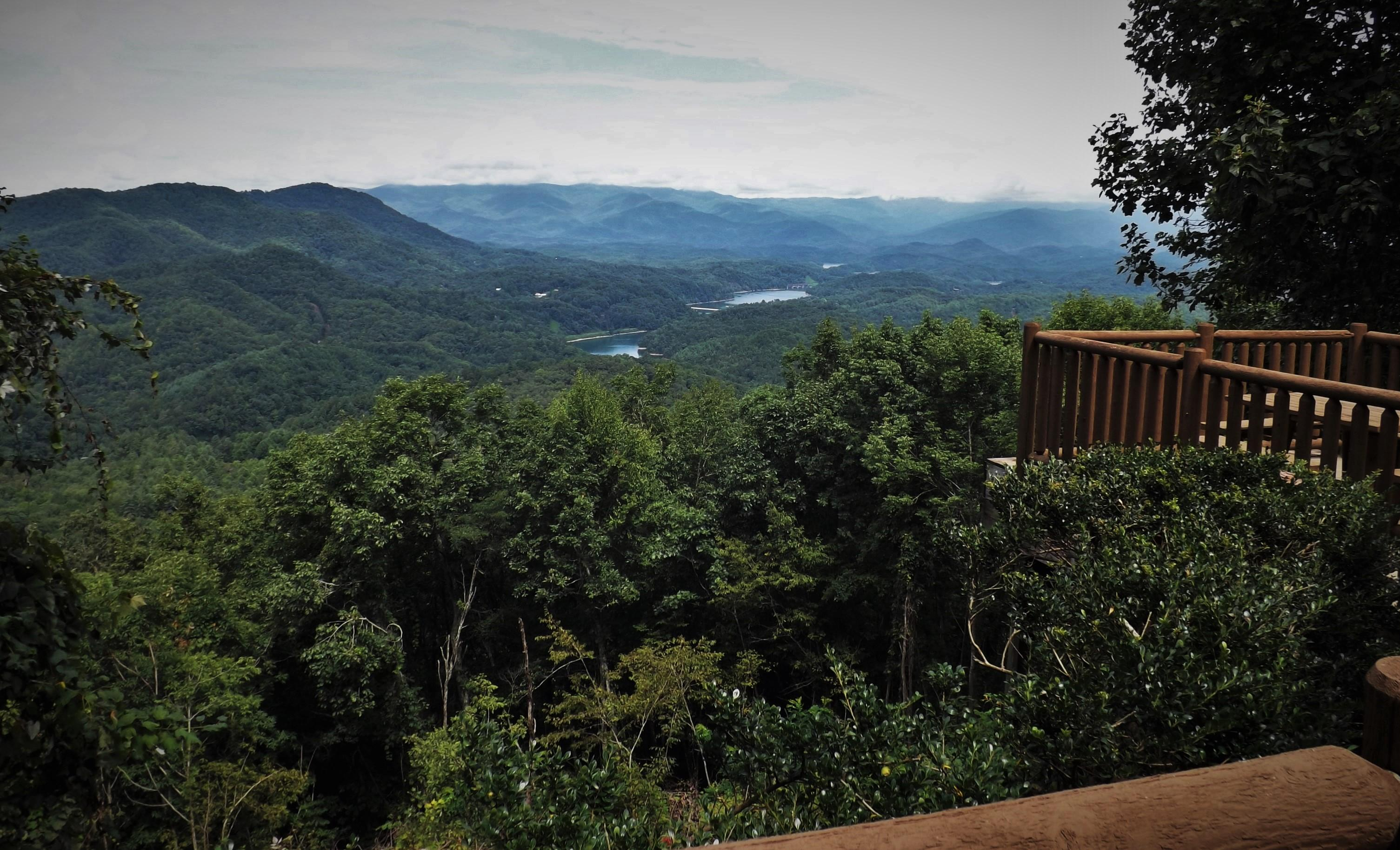 View from the Deck and Hot Tub