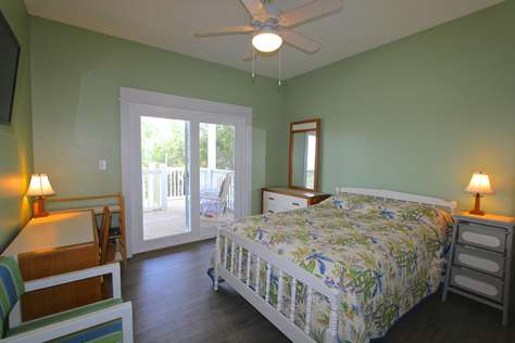 Bedroom #3 with gulf view