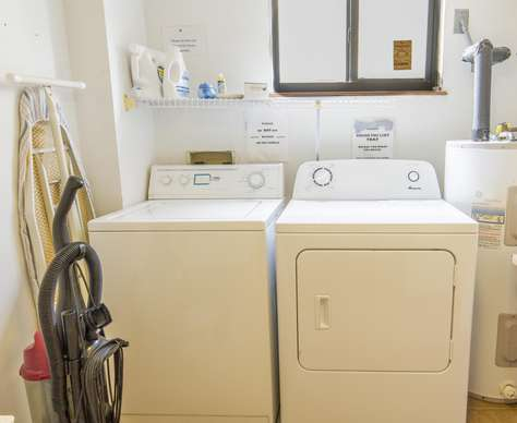 First floor washer / dryer.