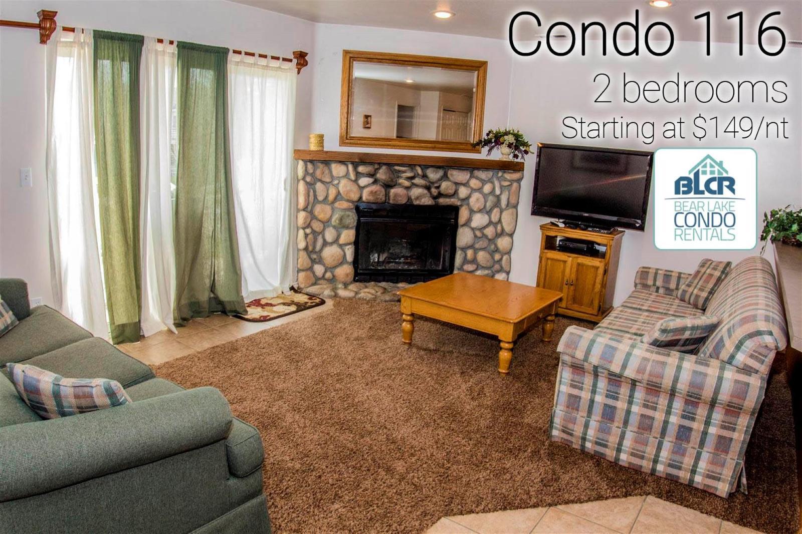 14-Plex Condo 116 - Bear Lake Condo Rentals