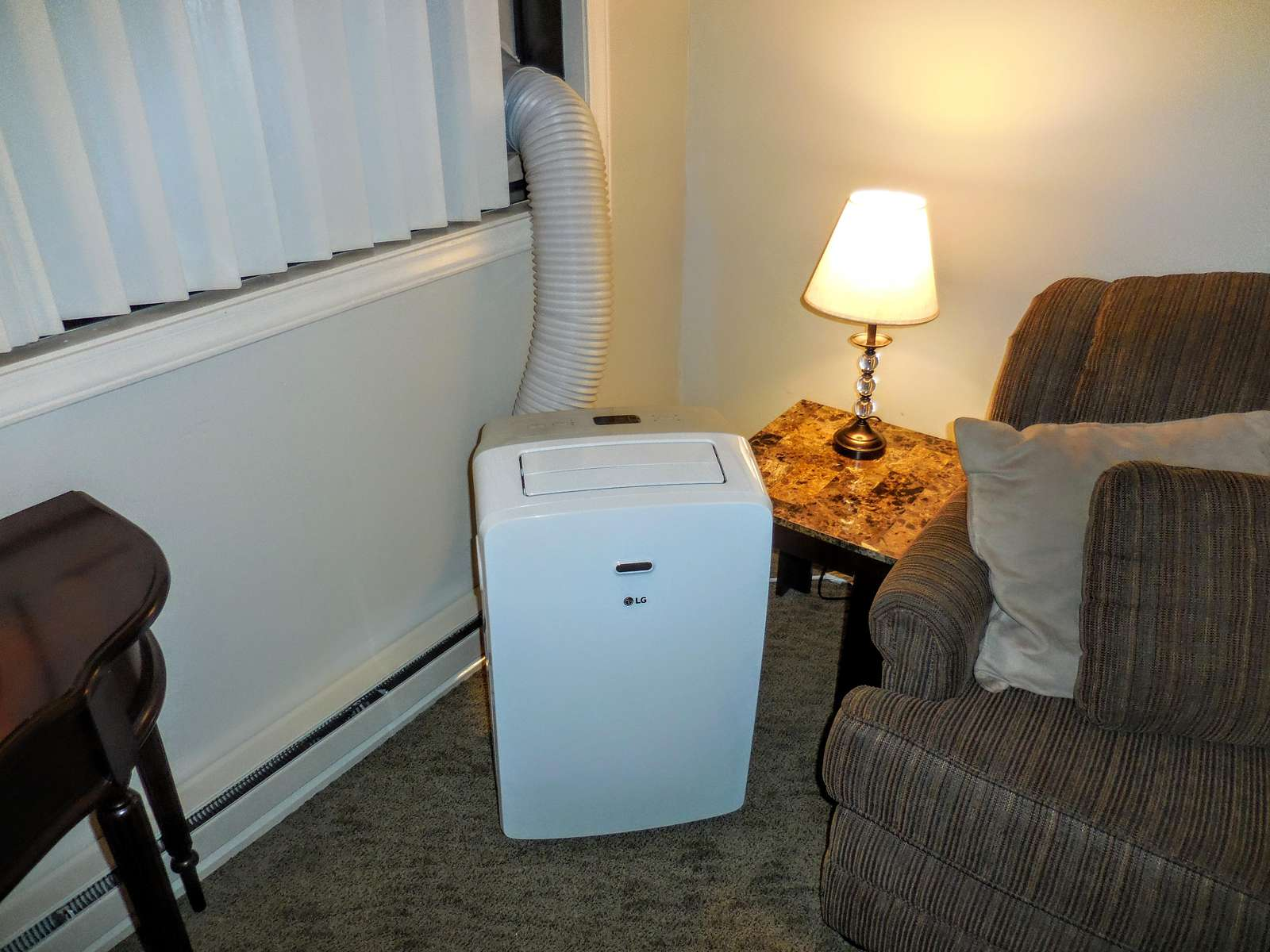 Portable A/C unit during Summer months