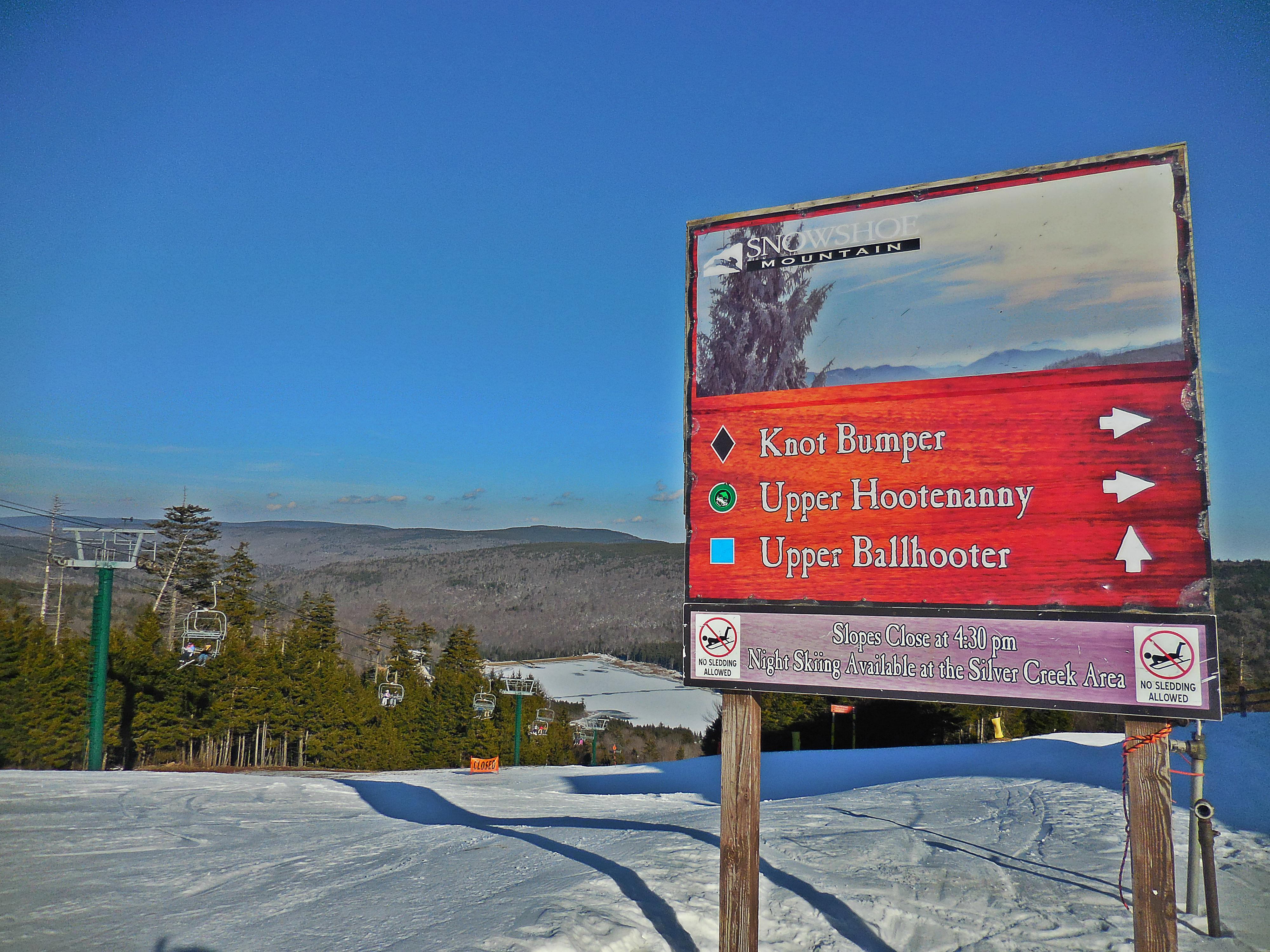 Knot Bumber, Hootenanny and Ballhooter trails are outside your back door!