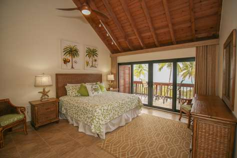 Spacious Bedroom Upstairs with Ocean View