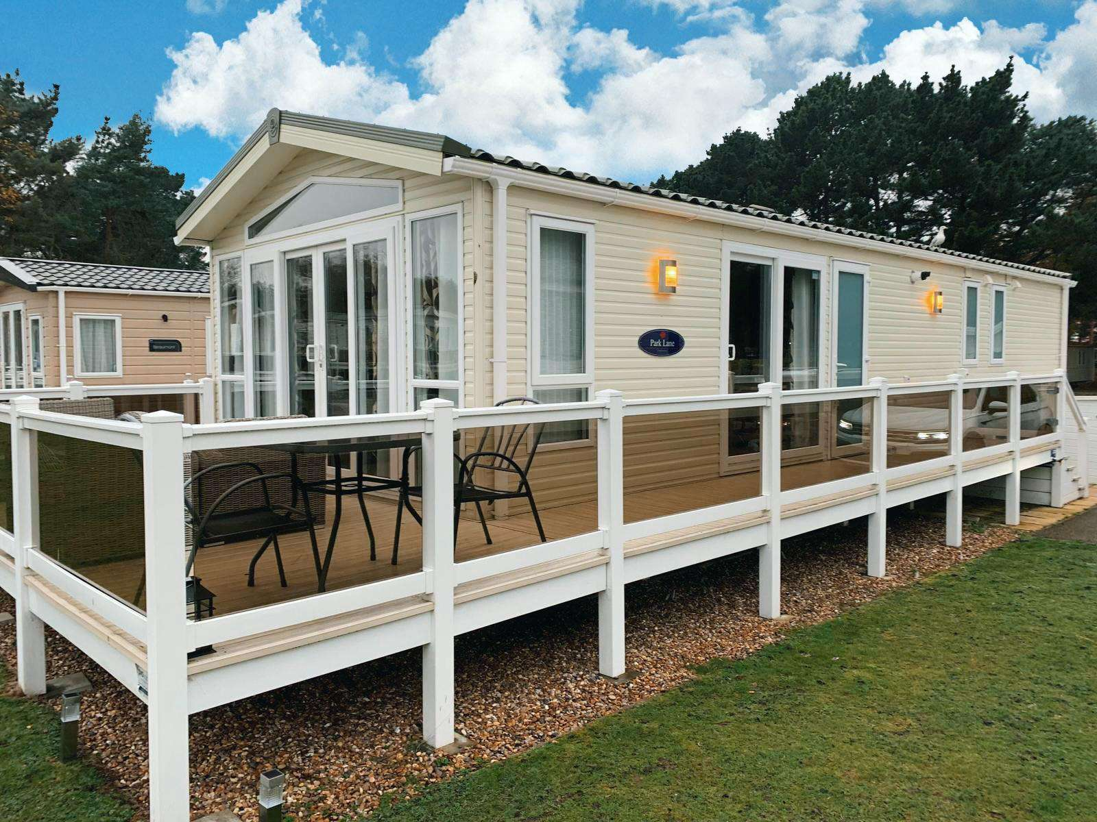 Luxury lodge on a fantastic haven park!