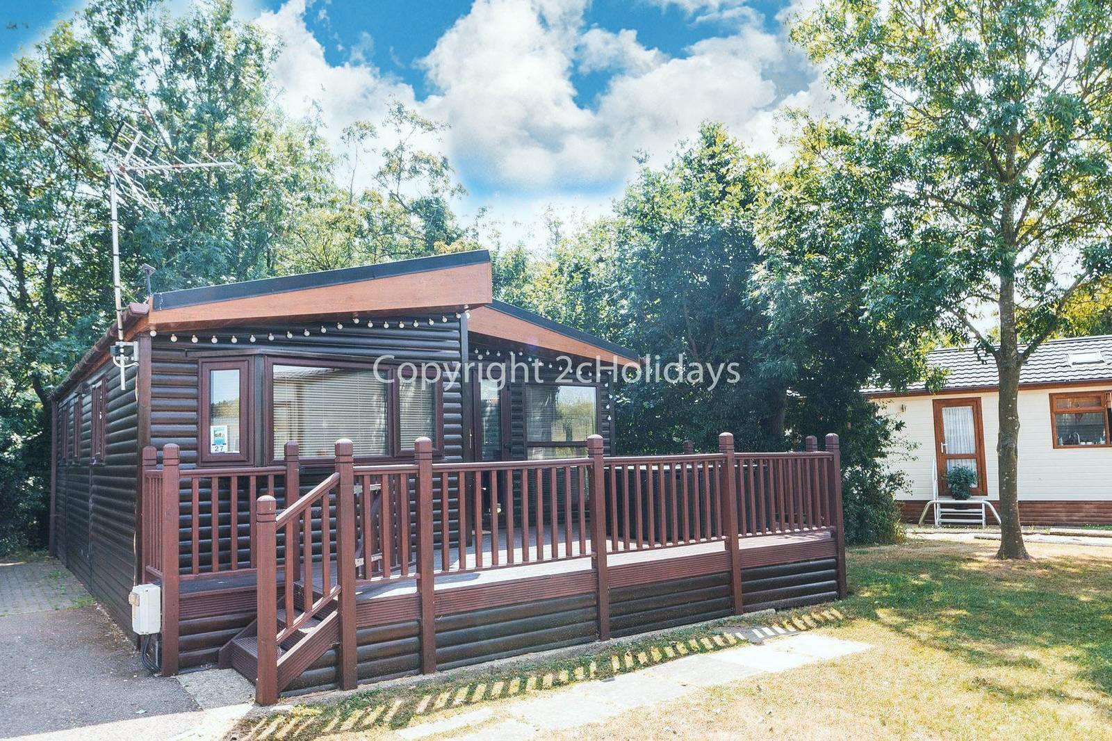 Accommodation with decking in Suffolk