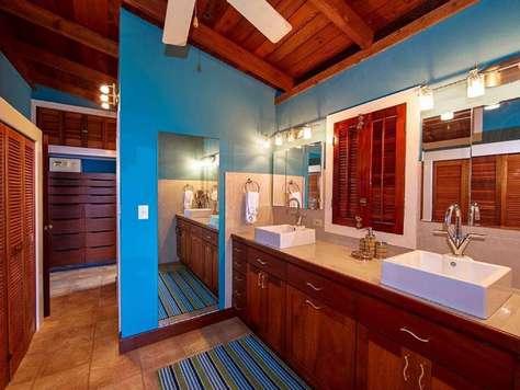 Master Bath with double vanity