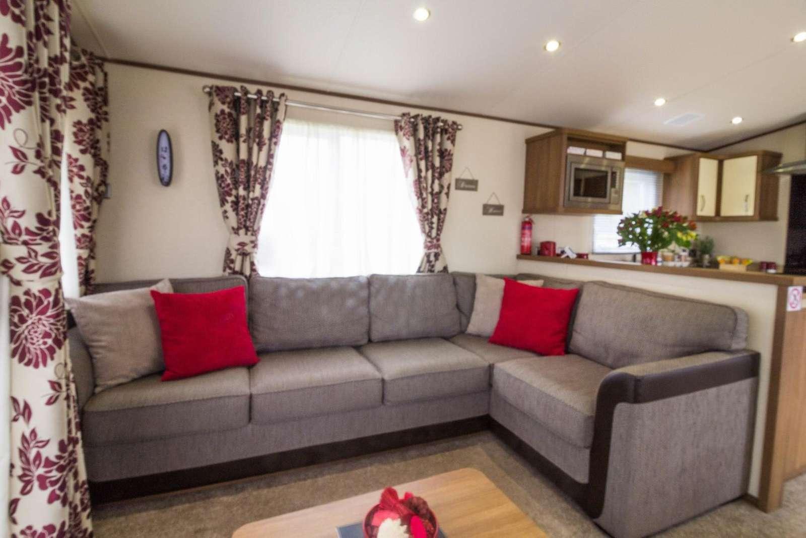 Luxury lounge with modern decor. Near BeWILDerwood only 12.5 miles away.