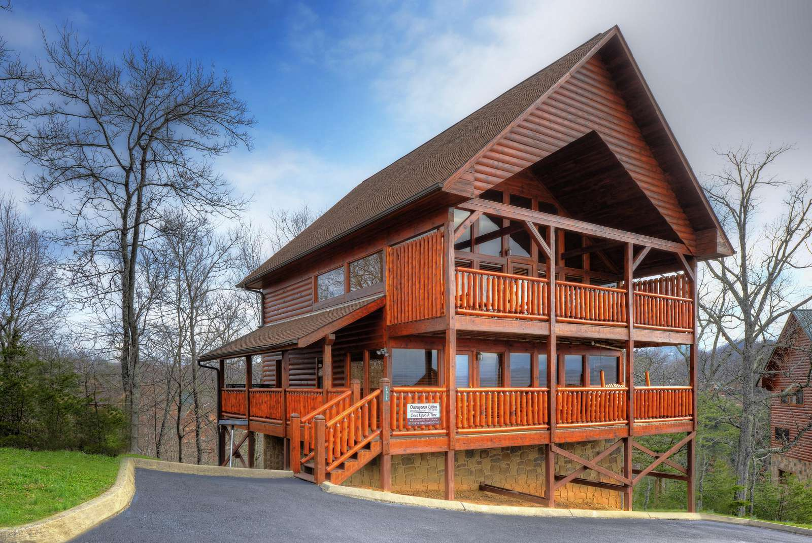 Once Upon A Time 2 Br Outrageous Cabins Sevierville Tn