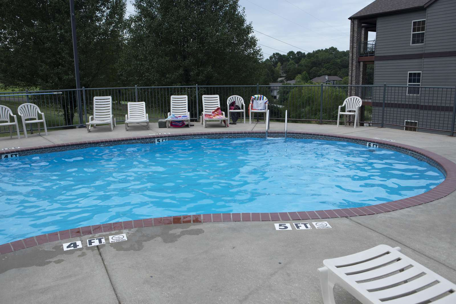 One of three pools that Stonebridge offers is within walking distance of the condo.