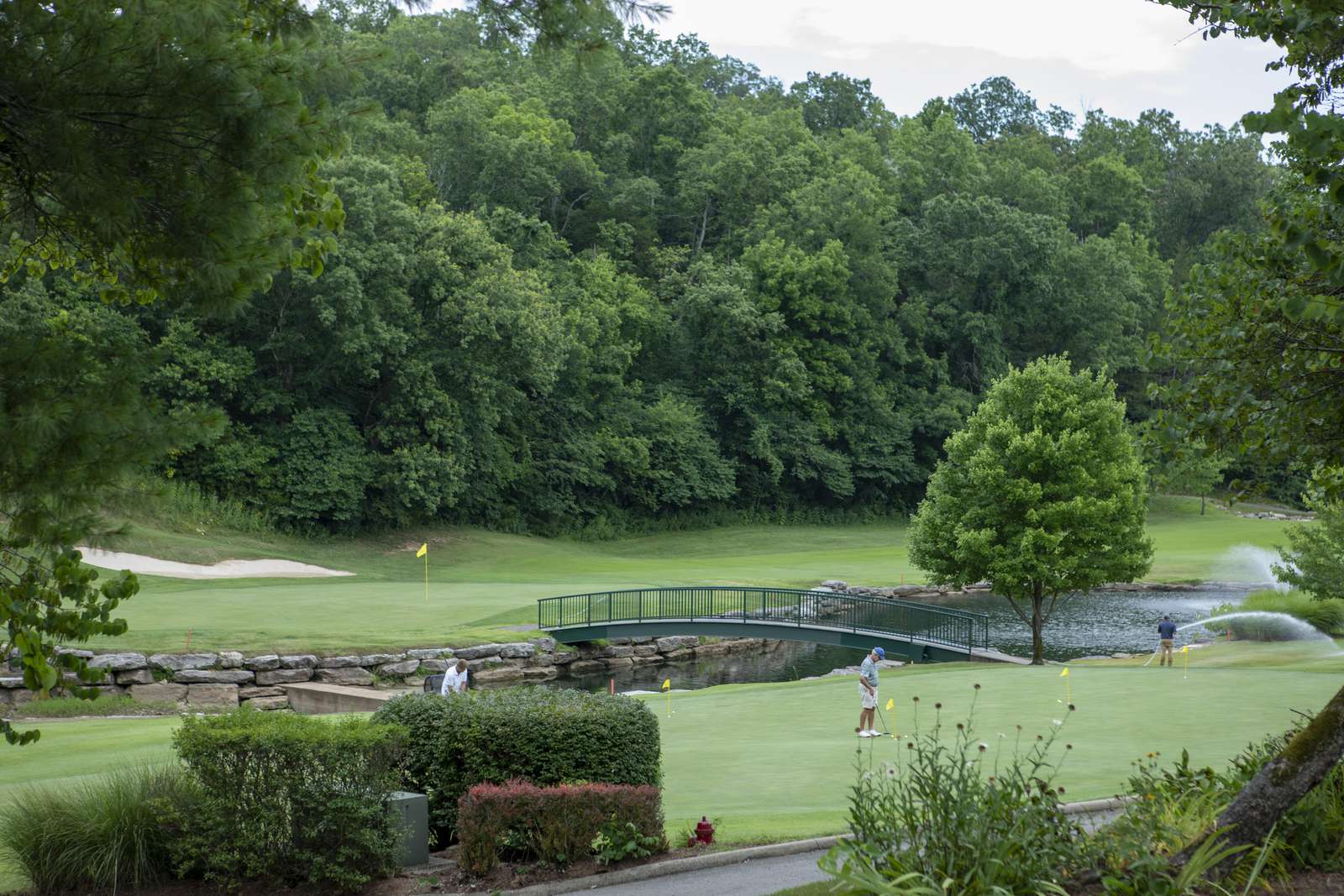 Ledgestone Golf Course is open to the public and is ranked #4 in the state of Missouri!