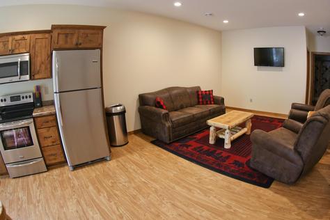 Buffalo River B (1 Bedroom Vacation Home)