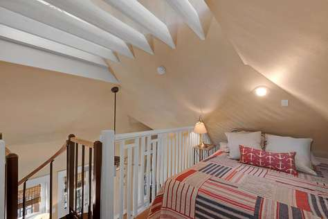 Carriage House Bedroom with Queen Bed