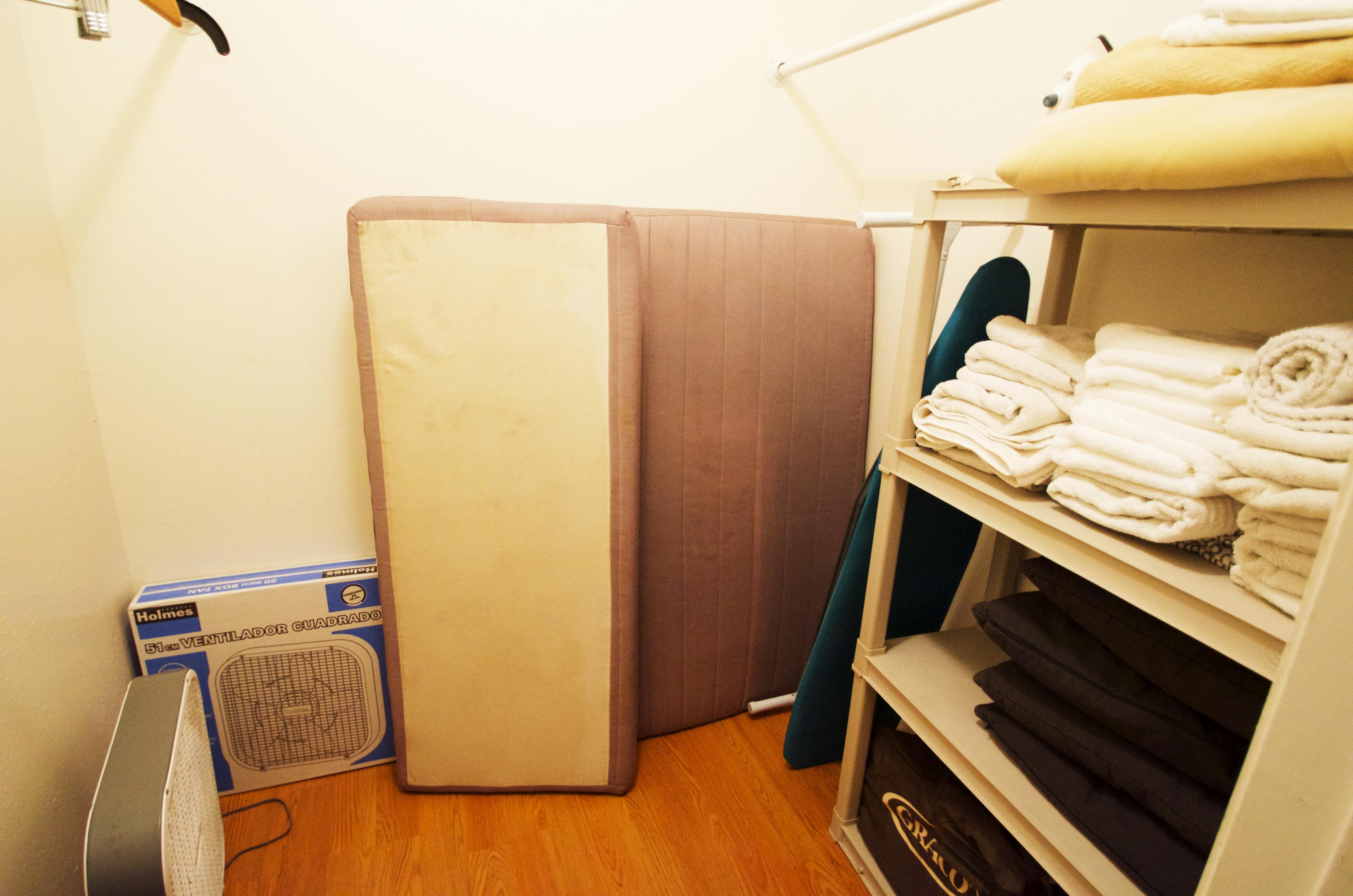 Walkin Closet upstairs Front bedroom