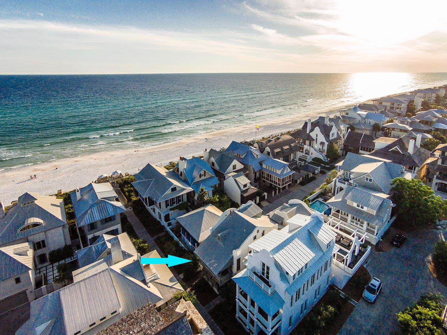 Only 2 Homes from the Beach