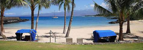 Owner's Beach at Mauna Lani!