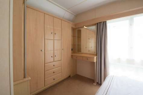 Spacious and a modern feel caravan for hire