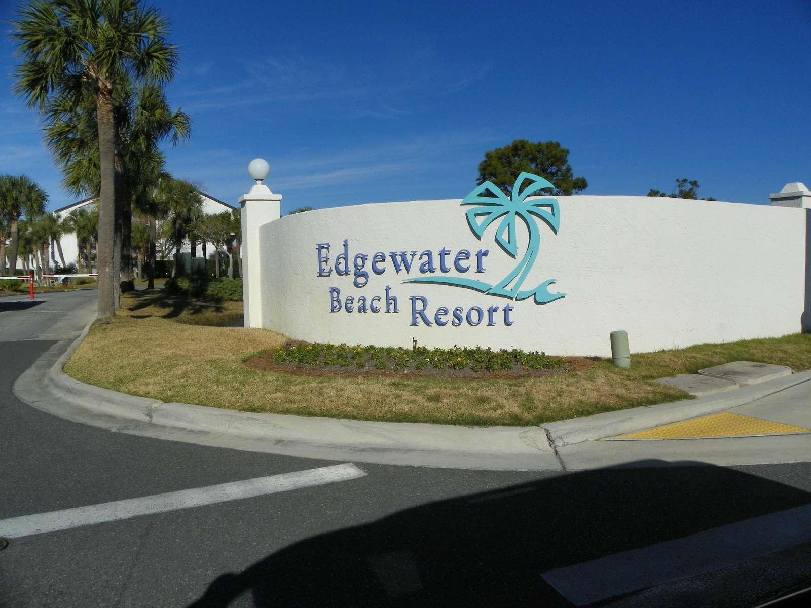 Entrance to Villa's/Golf Course