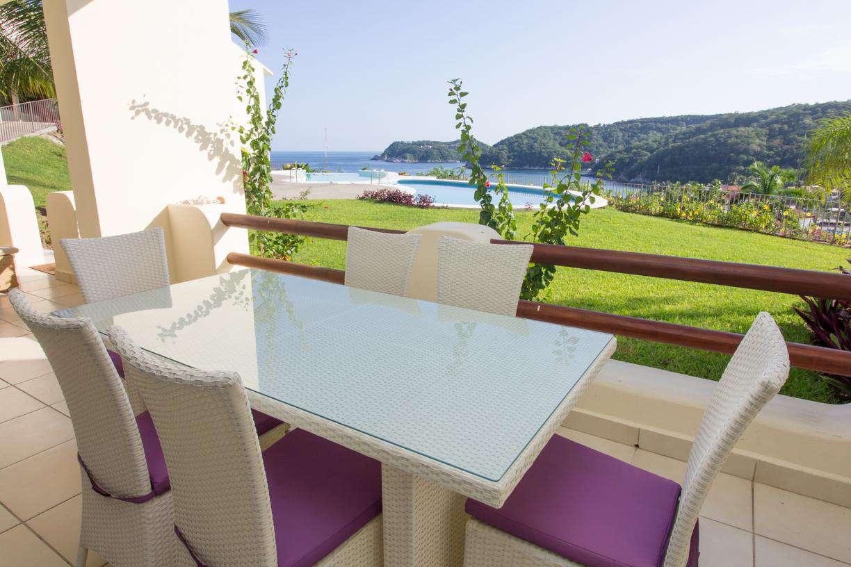 Oceanfront, centrally located with a spectacular views