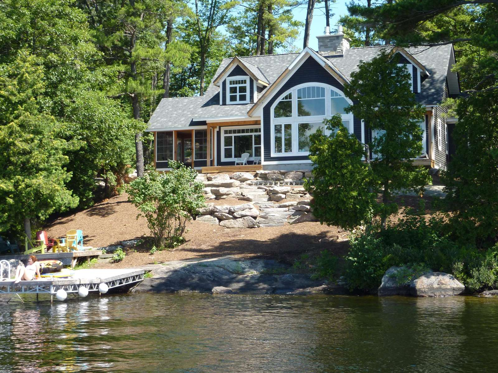 Super Peace Of Muskoka Bay Jaynes Cottages Luxury Muskoka Rentals Download Free Architecture Designs Scobabritishbridgeorg