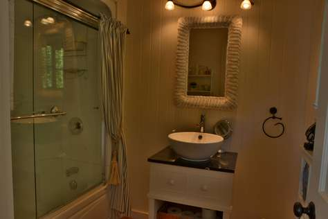 Boathouse Bathroom with Shower