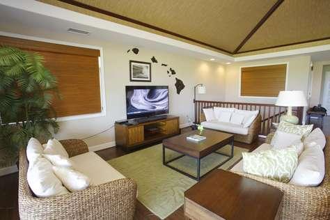 Upstairs living-room