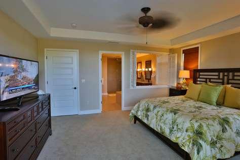 Master bedroom looking towards the en-suite