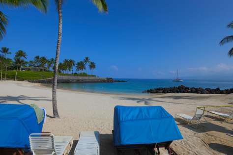 You get private access to this owner's beach club and use of the beach chairs.