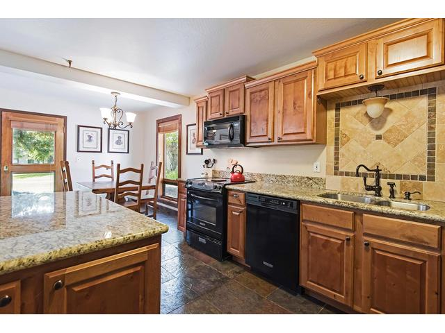 Updated kitchen cabinets and appliances