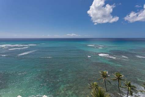 Reef just below hotel ideal for snorkling