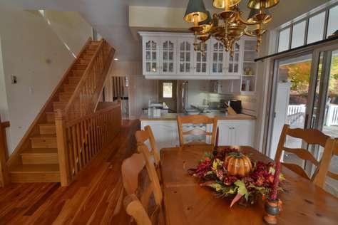 Kitchen Area/Staircase