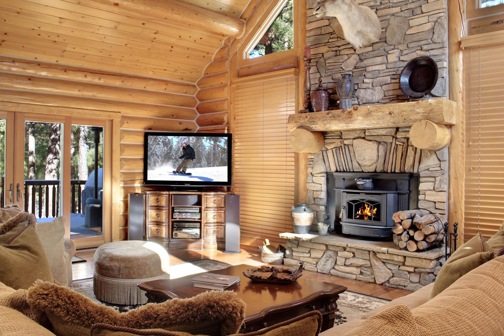 15 log cabin estate private luxury wowrentals com