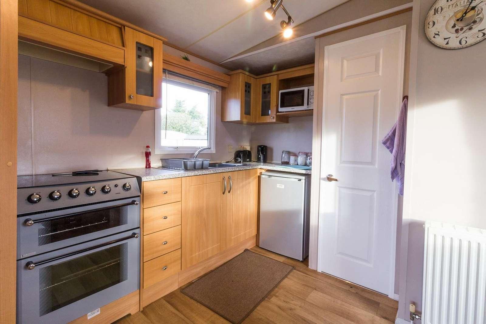 Caravan for rent near the Norfolk Broads