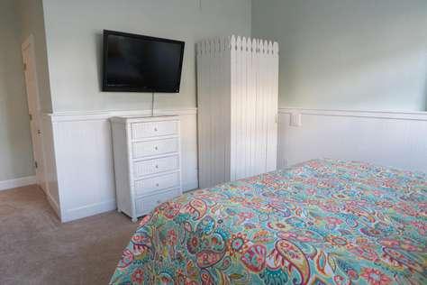 Bedroom Two TV Area