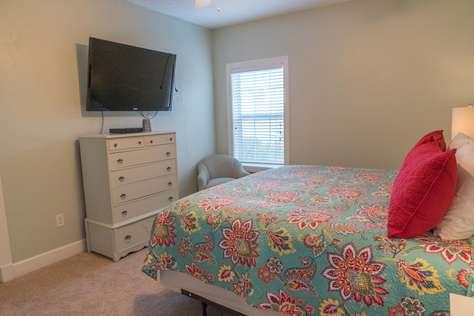 Bedroom Four TV Area