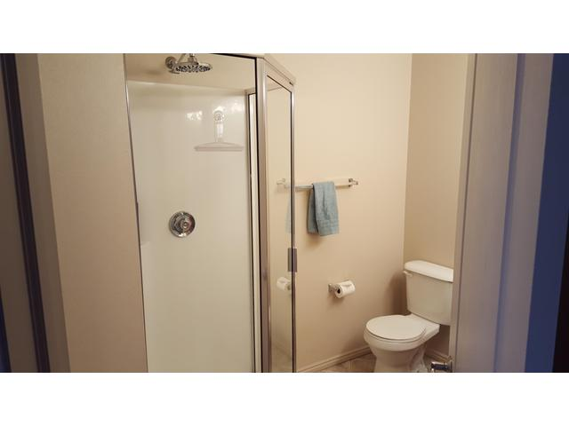 Master bath with stand-up shower