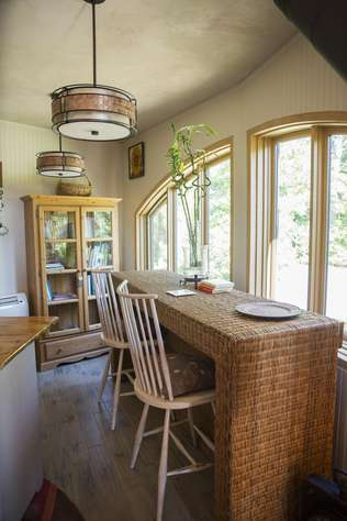 Breakfast Area by Greenhouse