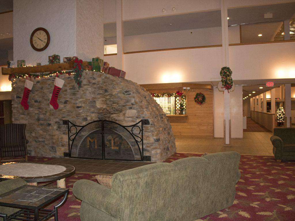 Fire Place at Sitting Area