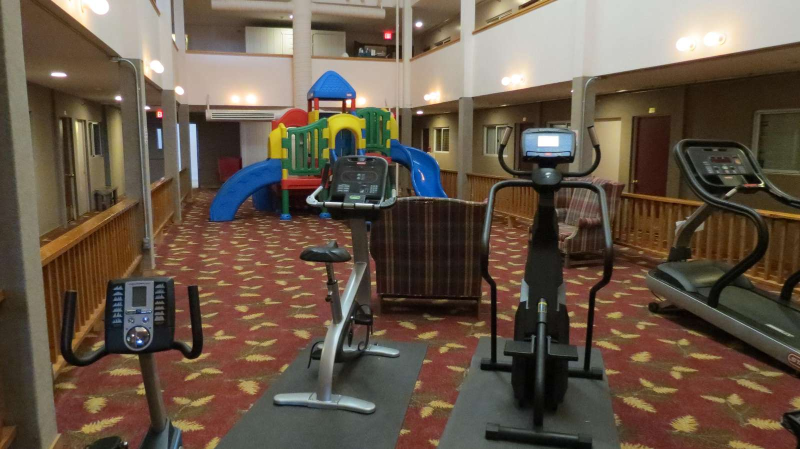 Gym/Play Area of ML
