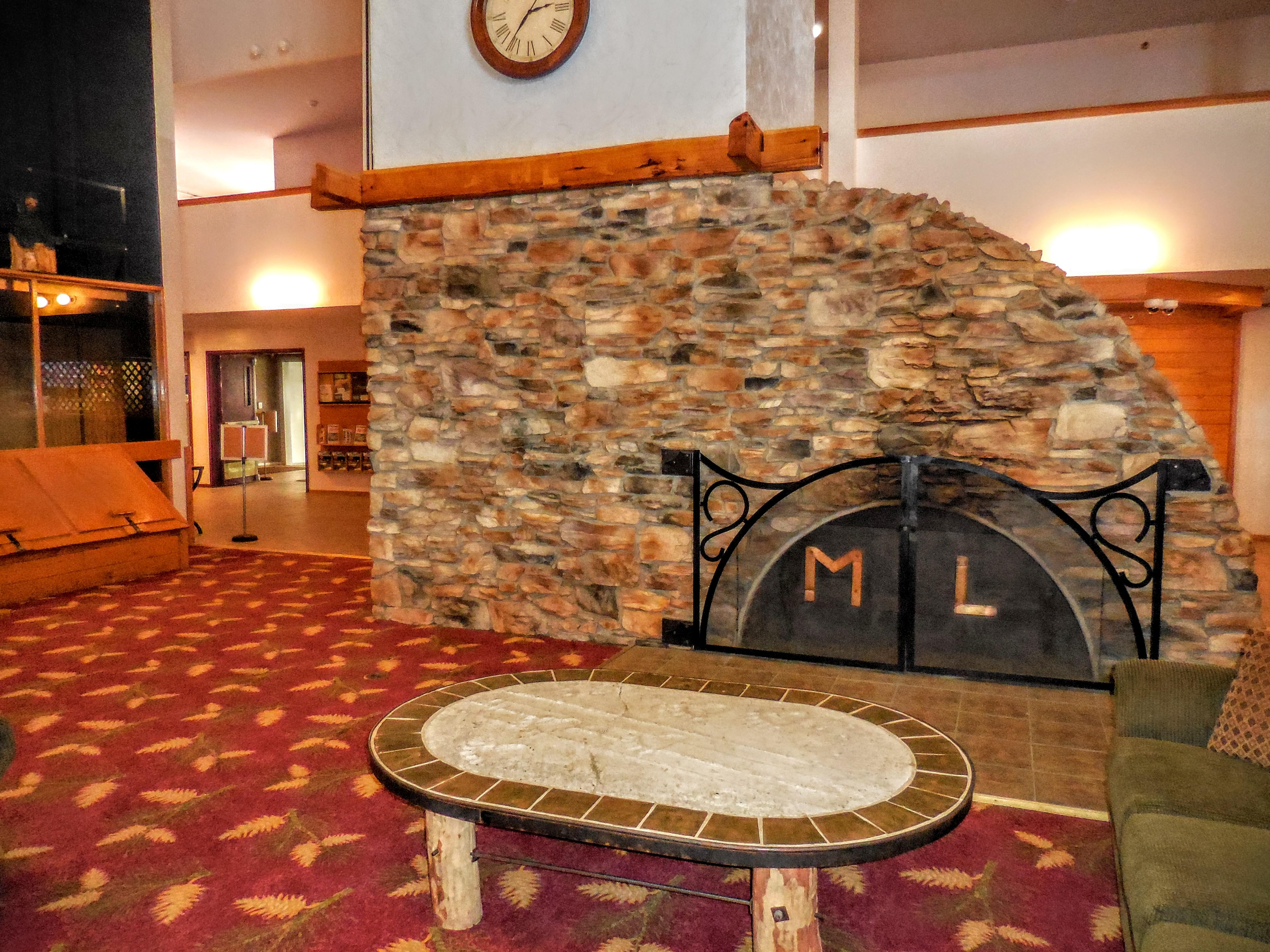 Sit by the large Mountain Lodge fireplace and enjoy free high-speed Internet!
