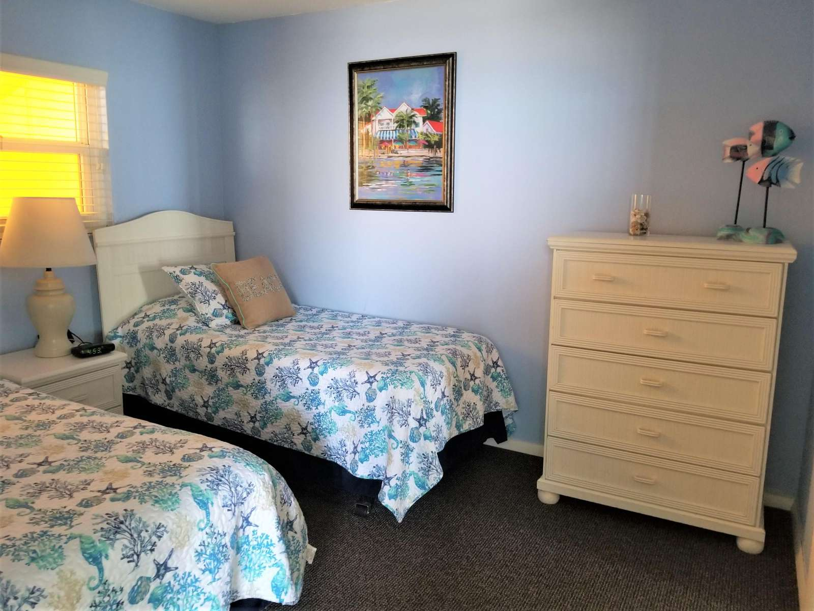 Guest bedroom from entrance