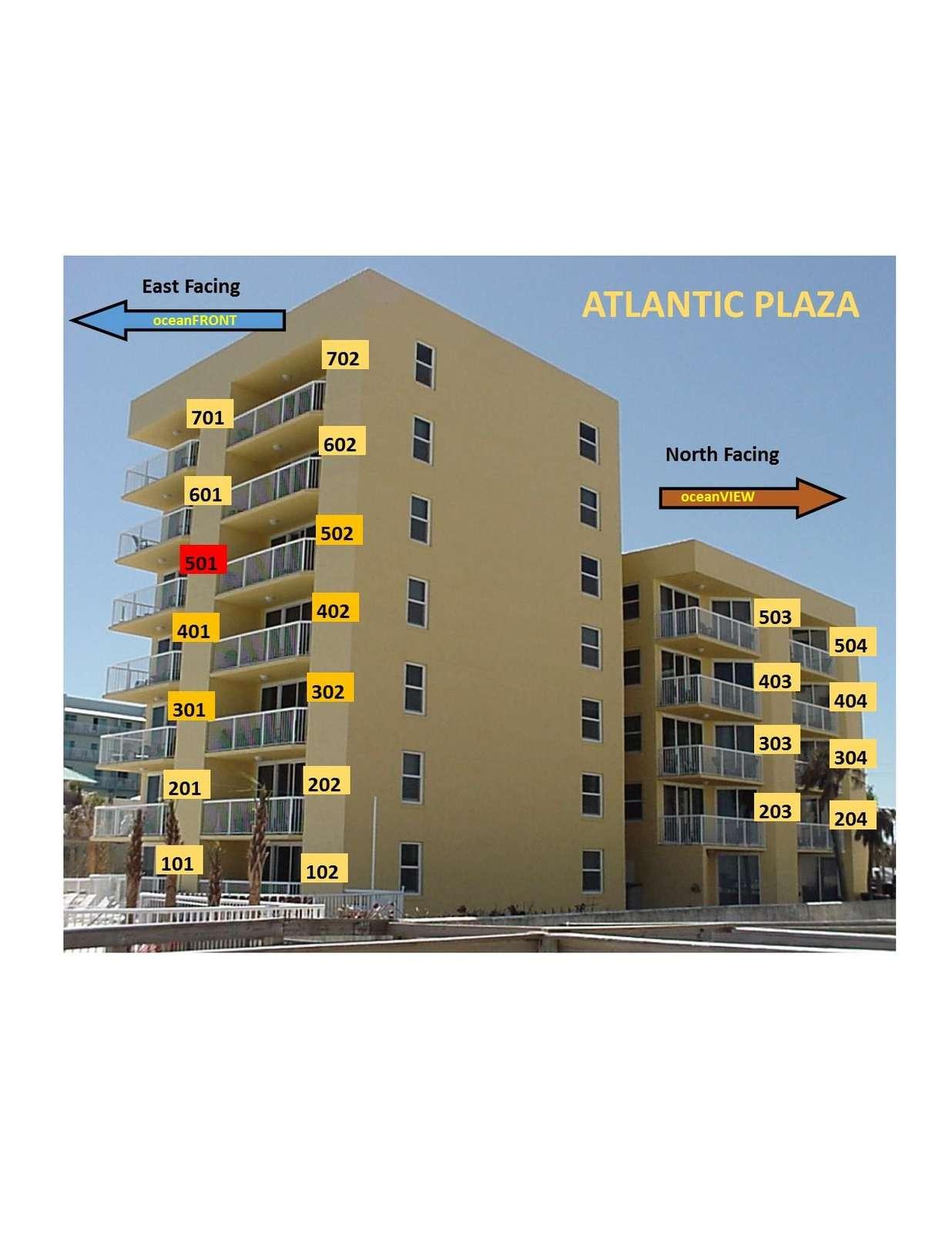OceanFRONT unit 501 5th floor