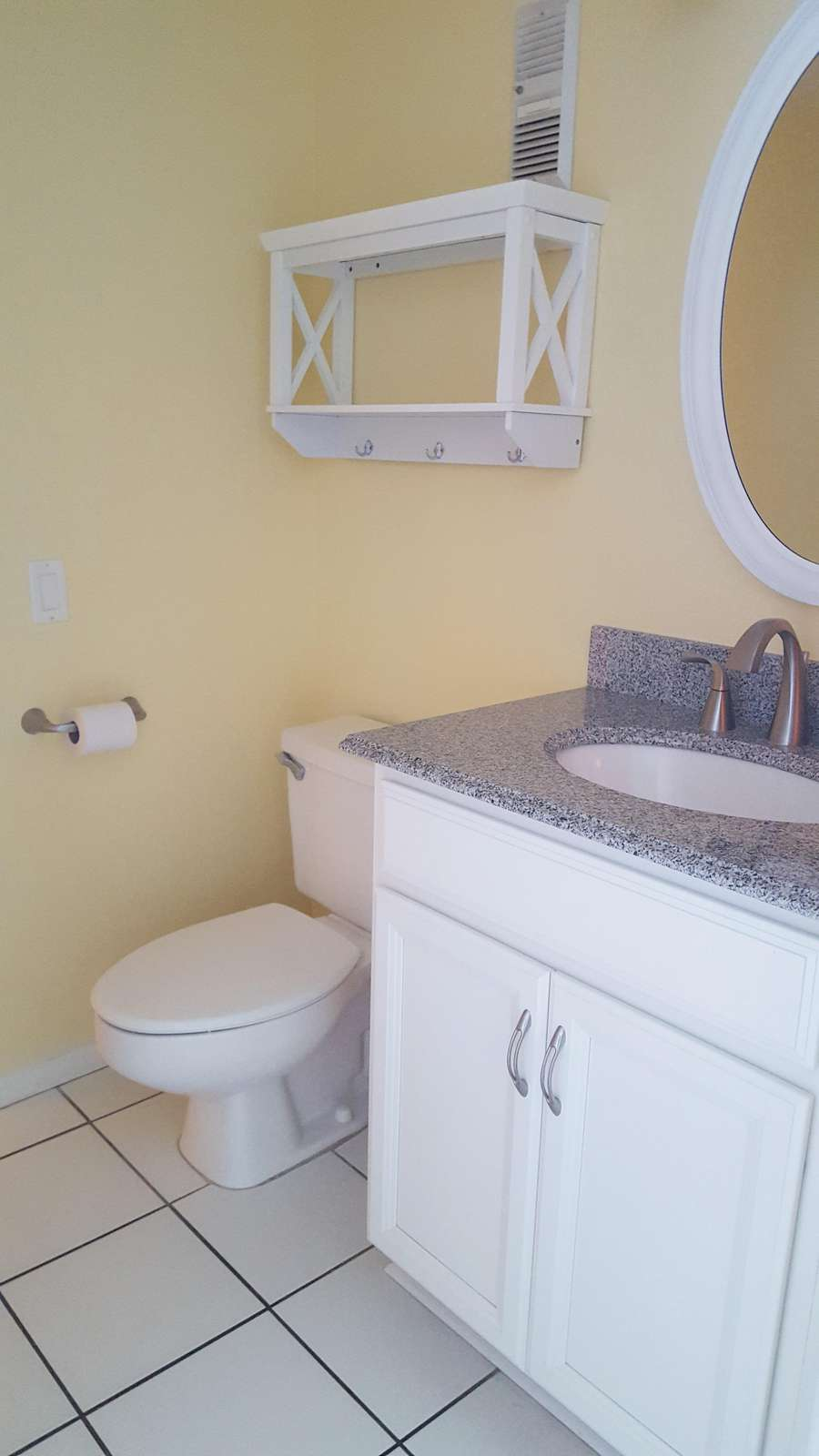 Guest bath from living room
