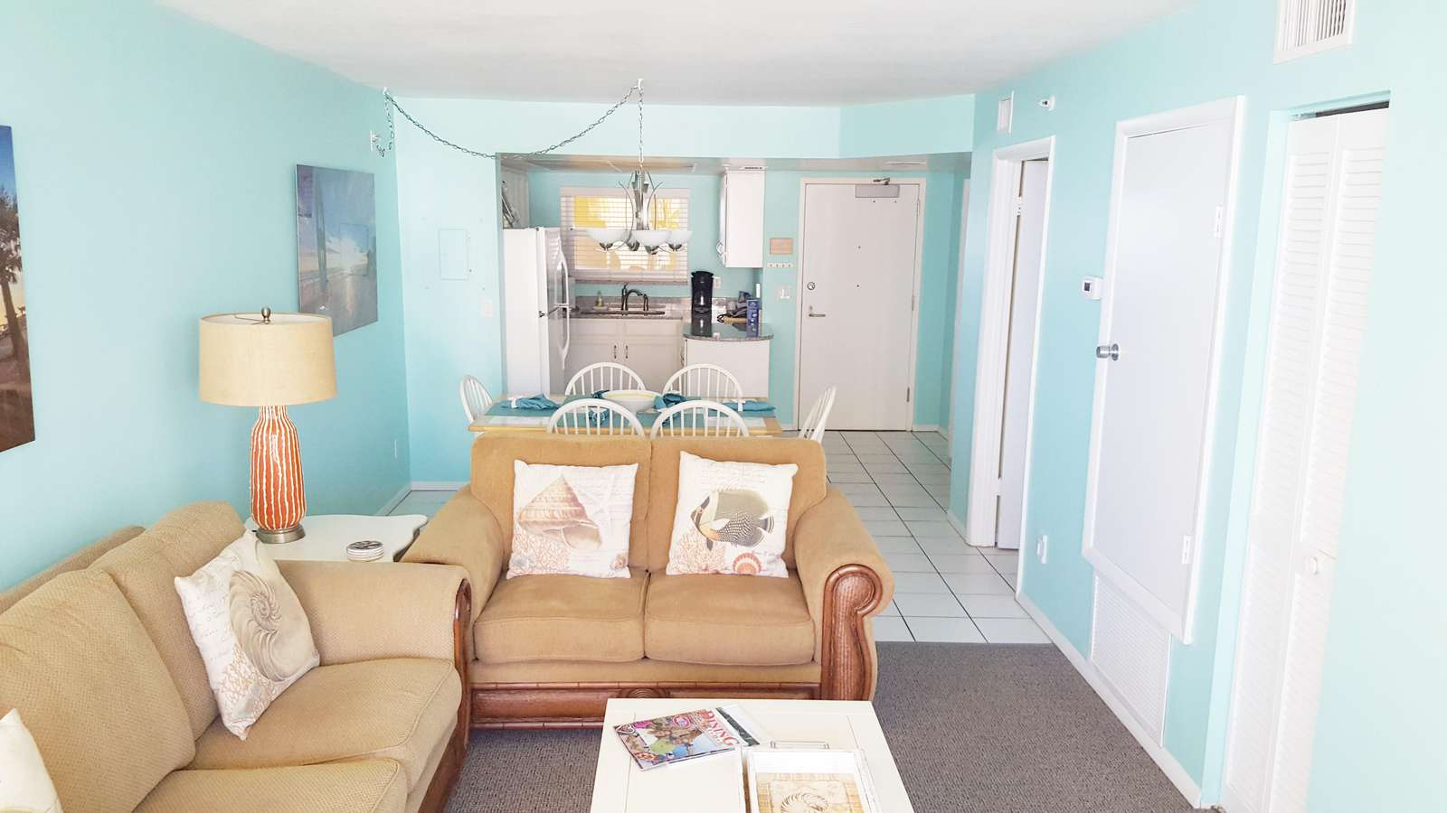 Living room from sliding door