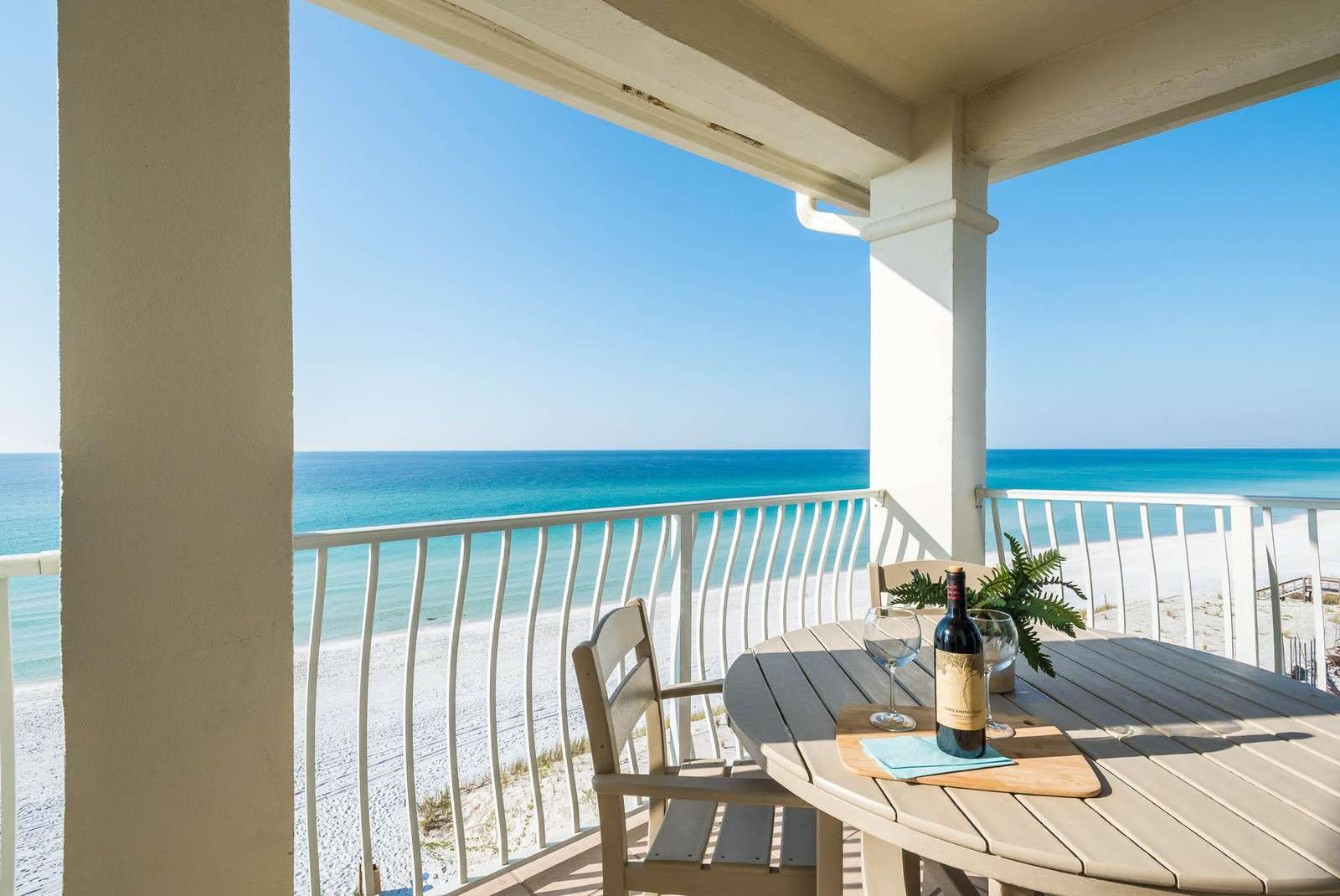 Gulf Front Balcony with Amazing Views!