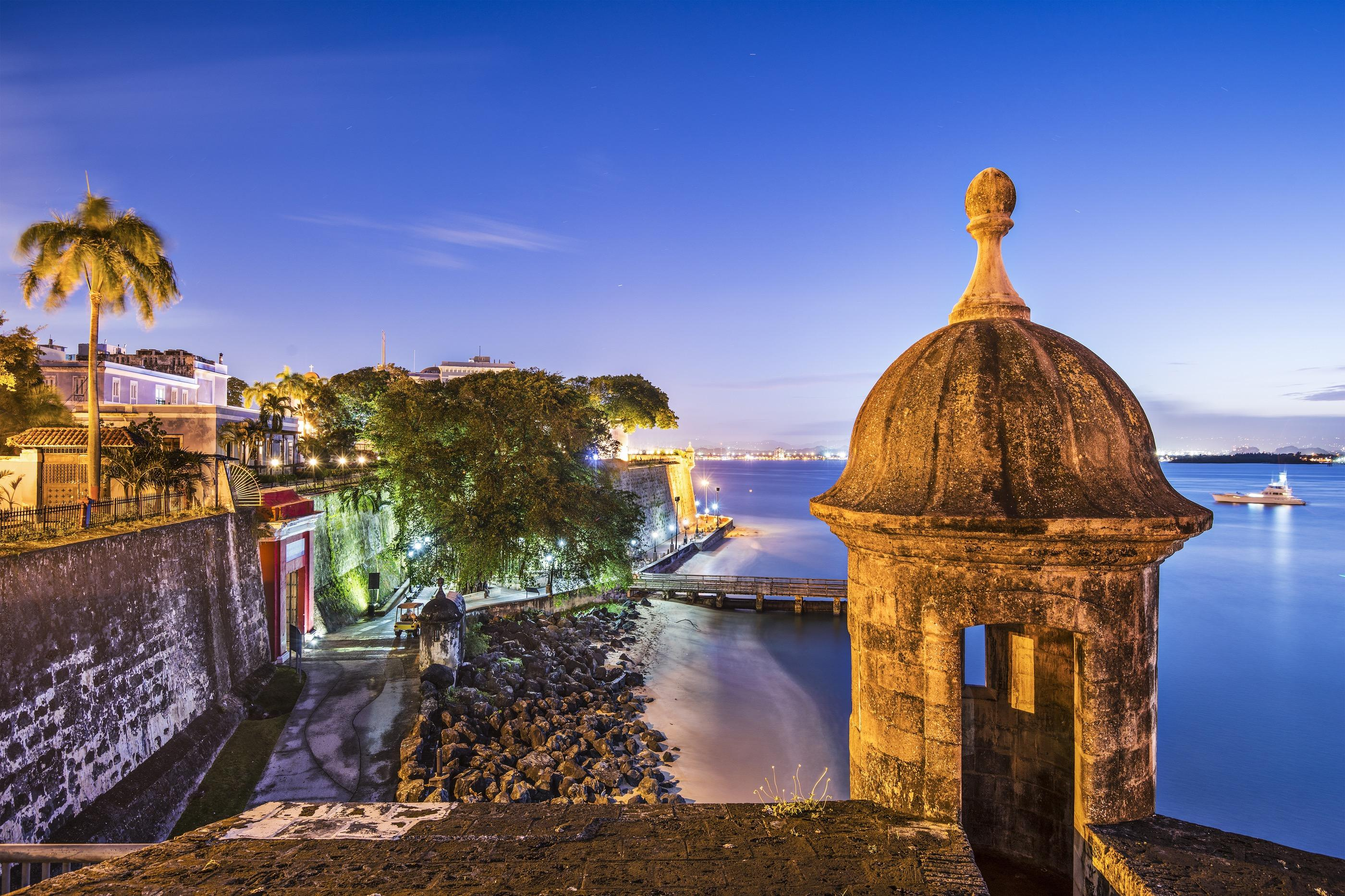 Old San Juan is an easy UBER or bus ride away (or bike)