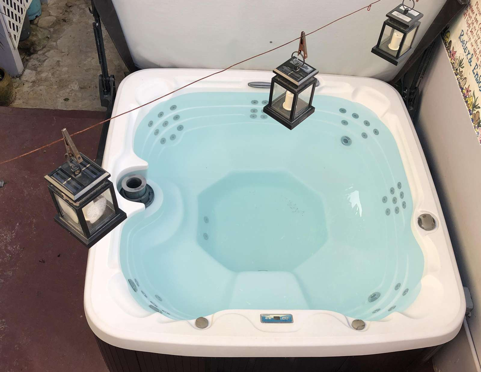 This is YOUR private jacuzzi