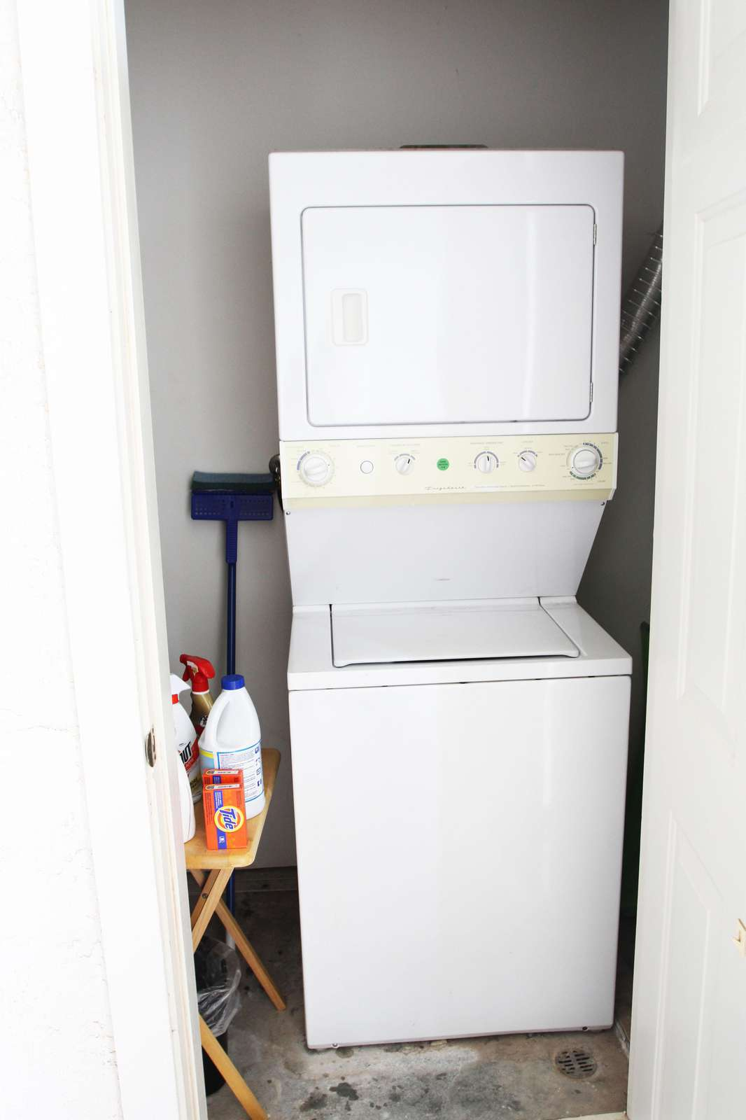 Personal Washer/Dryer on Patio