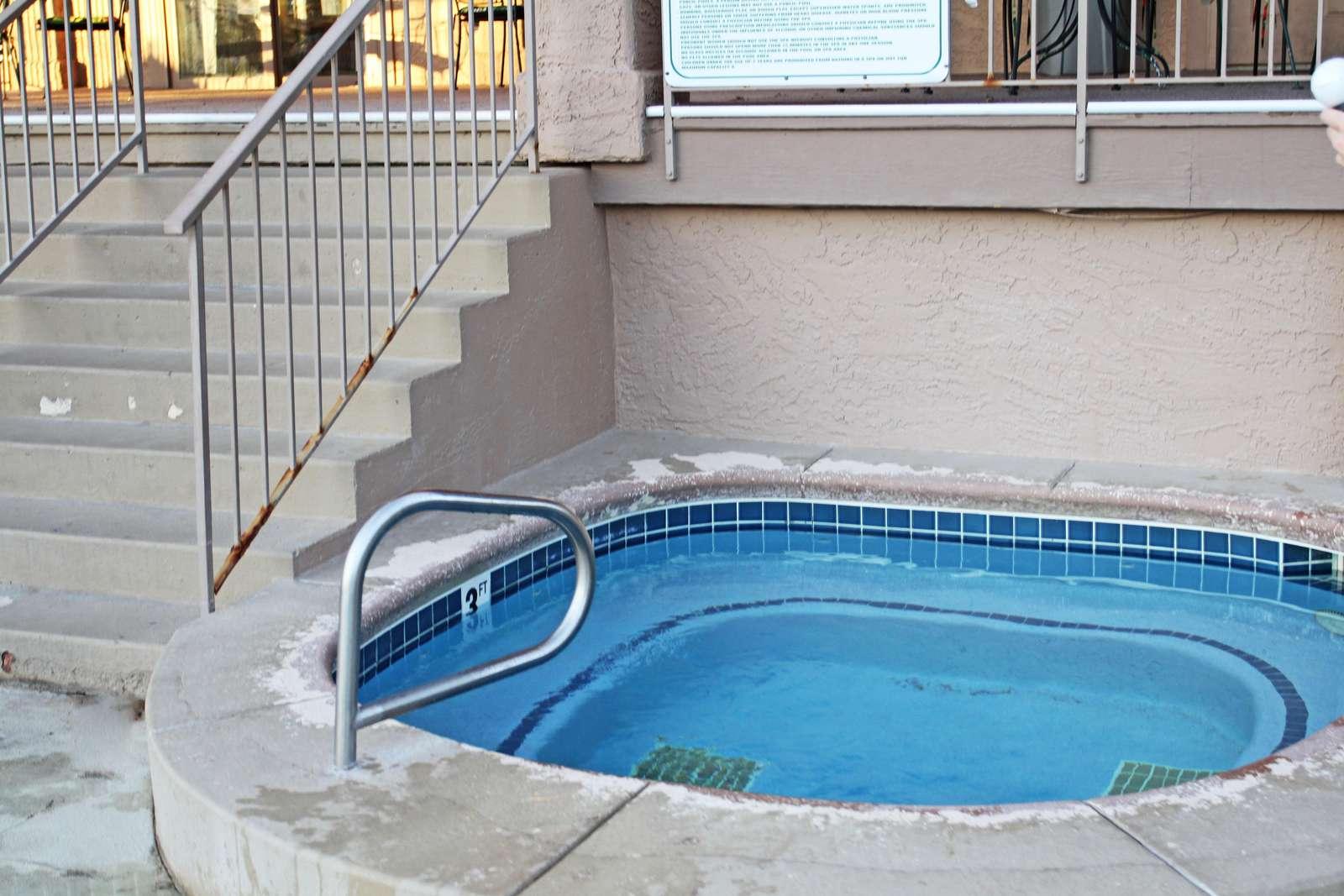 Hot Tub at Family Pool