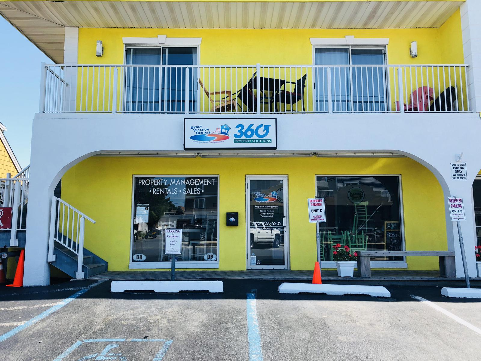 Our front office where you check in and your Dewey Beach vacation begins!